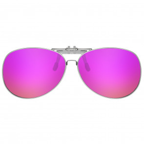 Polarizované krytie okuliarov AVIATOR ružový
