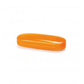 Prípad pre okuliare HAYNE Fancy oranžový - nachový