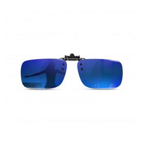 Polarizované krytie okuliarov mirror-blue