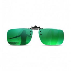 Polarizované krytie okuliarov mirror-zelená