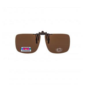 Polarizované krytie okuliarov SunStyle hnedý