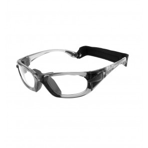 Sports glasses PROGEAR Eyeguard M, grey transparent