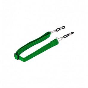 Nastaviteľná guma pre okuliare zelená