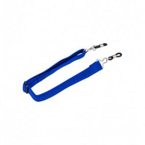 Nastaviteľná guma pre okuliare modrý